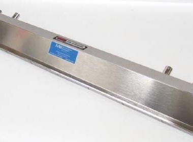 Nóż powietrzny sanitarny ze stali nierdzewnej typu CIP/COP